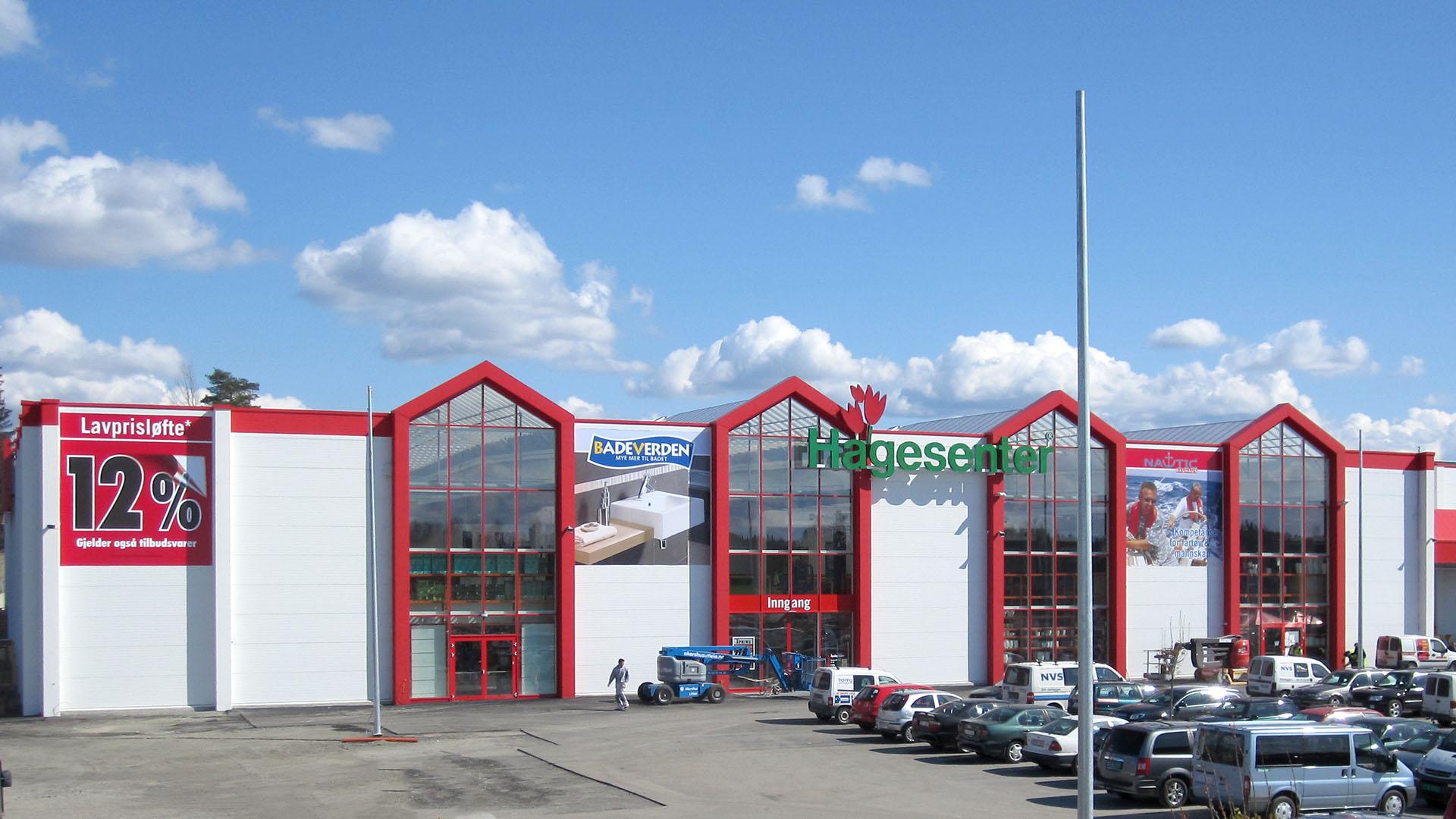 Bauhaus Vestby Norwegen